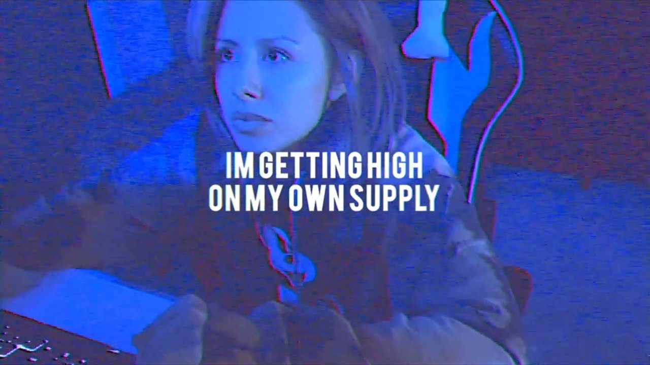 HIGH ON MY OWN SUPPLY (ACOUSTIC LYRIC VIDEO)